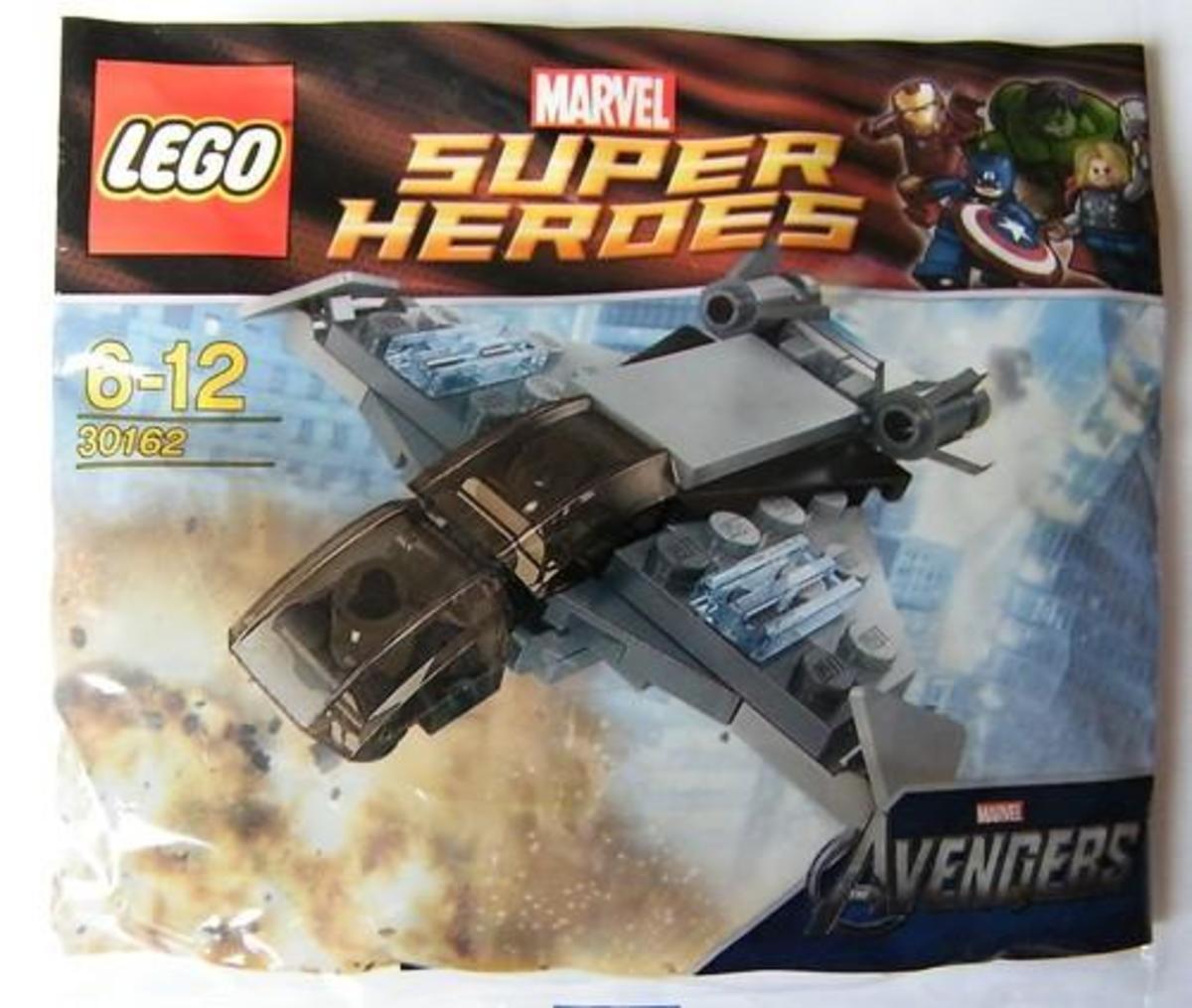 LEGO Super Heroes Quinjet 30162 Polybag