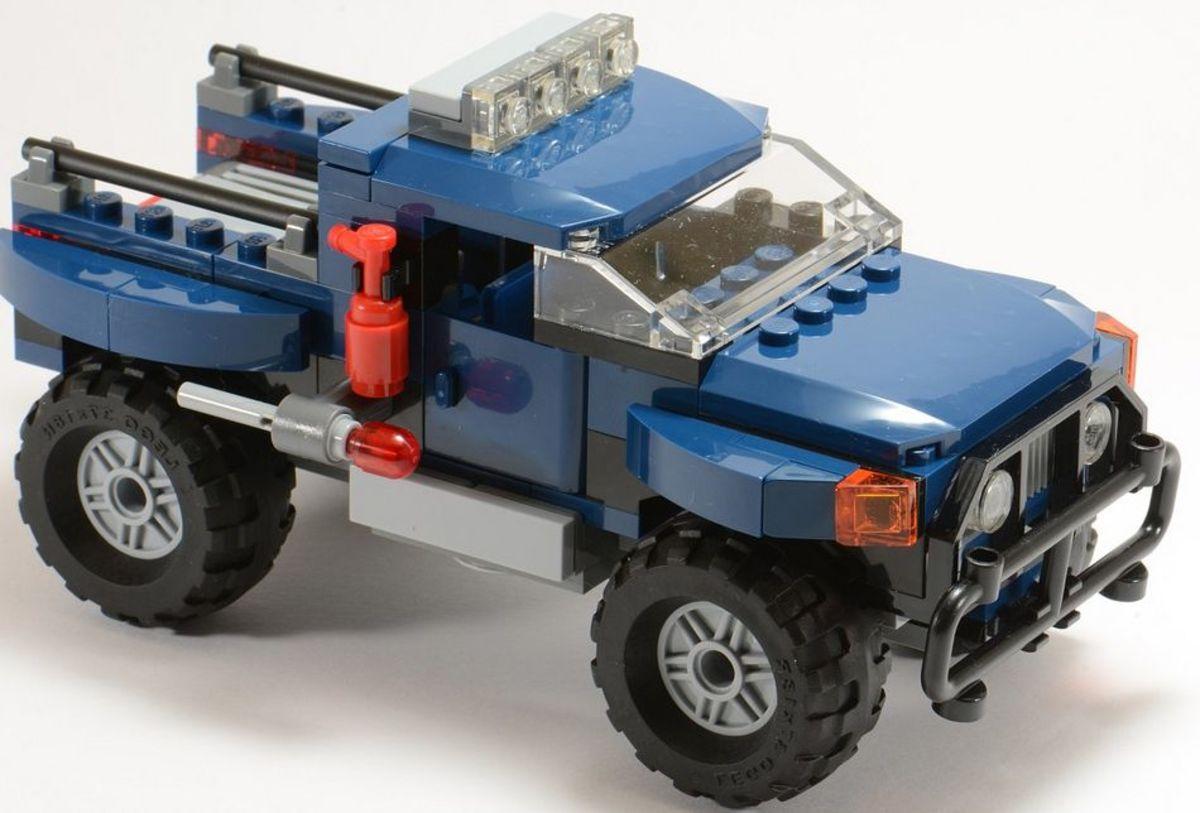 LEGO Super Heroes Loki's Cosmic Cube Escape 6867 Assembled