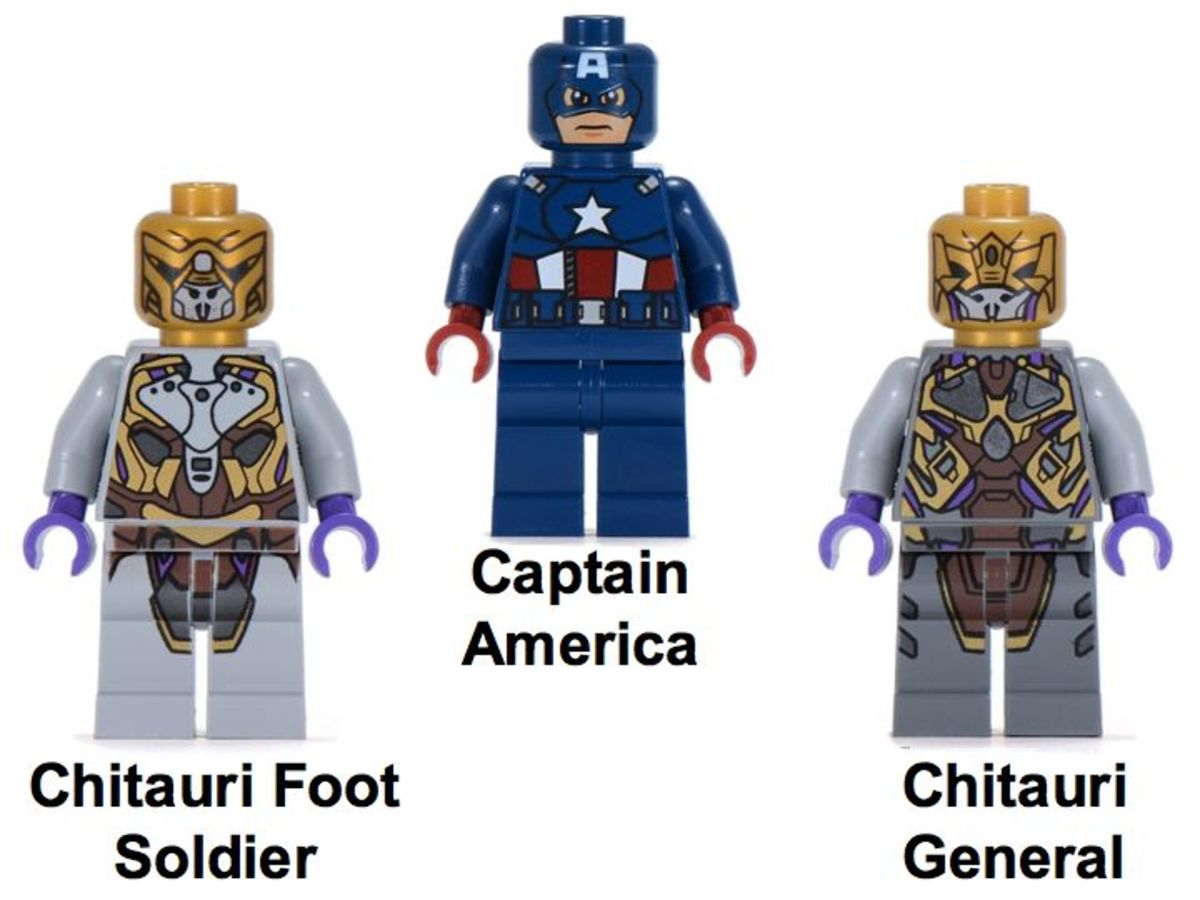 LEGO Captain America's Avenging Cycle 6865 Minifigures