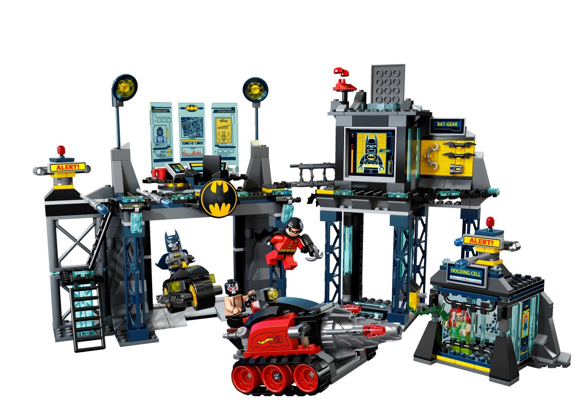 LEGO Super Heroes Batcave 6860 Assembled