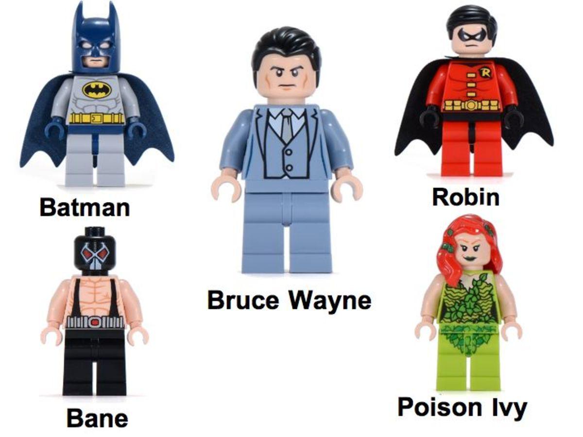 LEGO Super Heroes Batcave 6860 Minifigures
