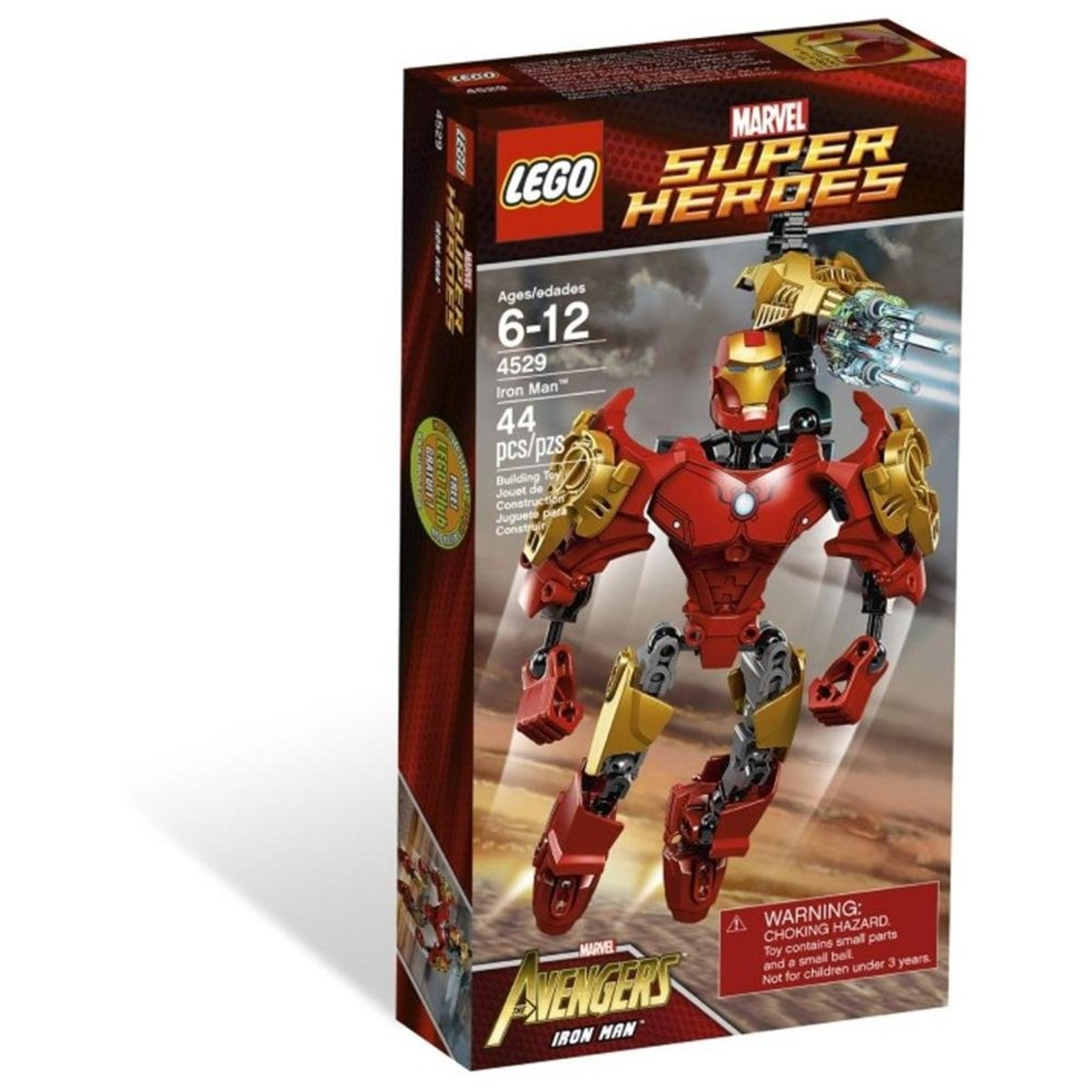 LEGO Super Heroes Ultrabuild Iron Man 4529 Box
