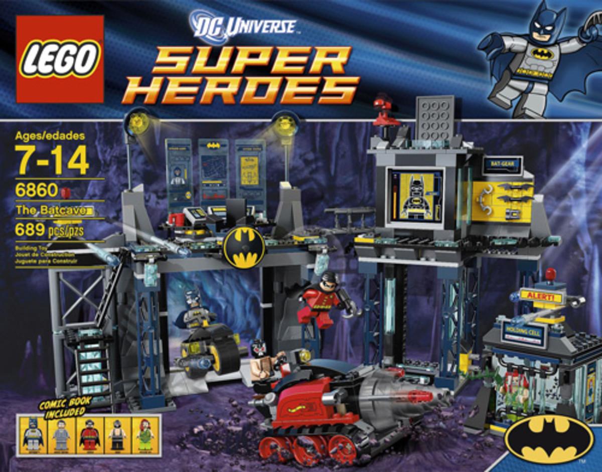 LEGO Super Heroes Batcave 6860 Box