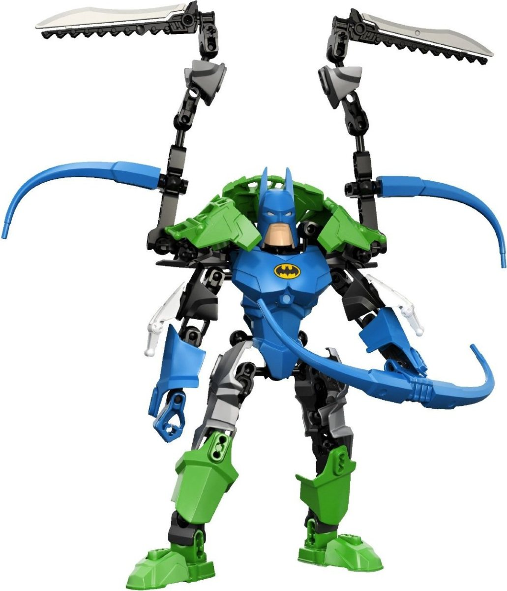 LEGO Ultrabuild Super Heroes Batman 4526 and Ultrabuild Green Lantern 4528 Combo