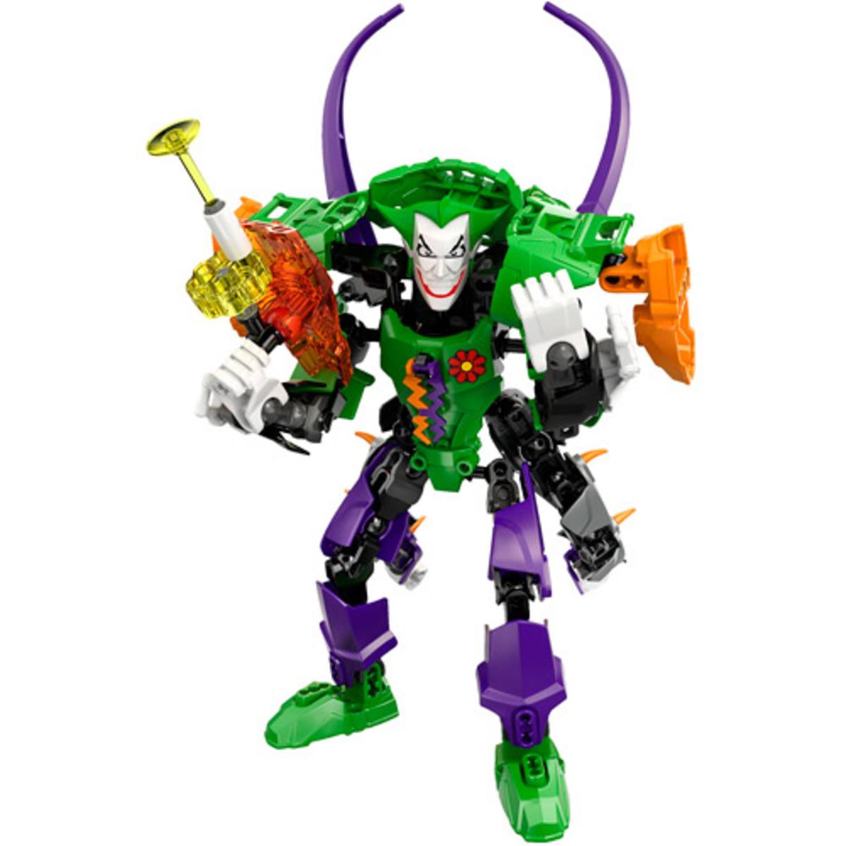 LEGO Ultrabuild Super Heroes Joker 4527 and Ultrabuild Green Lantern 4528 Combo