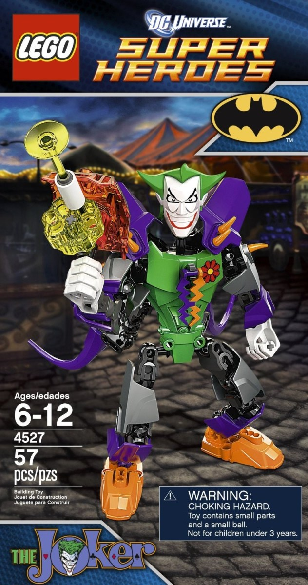 LEGO Ultrabuild Super Heroes Joker 4527 Box