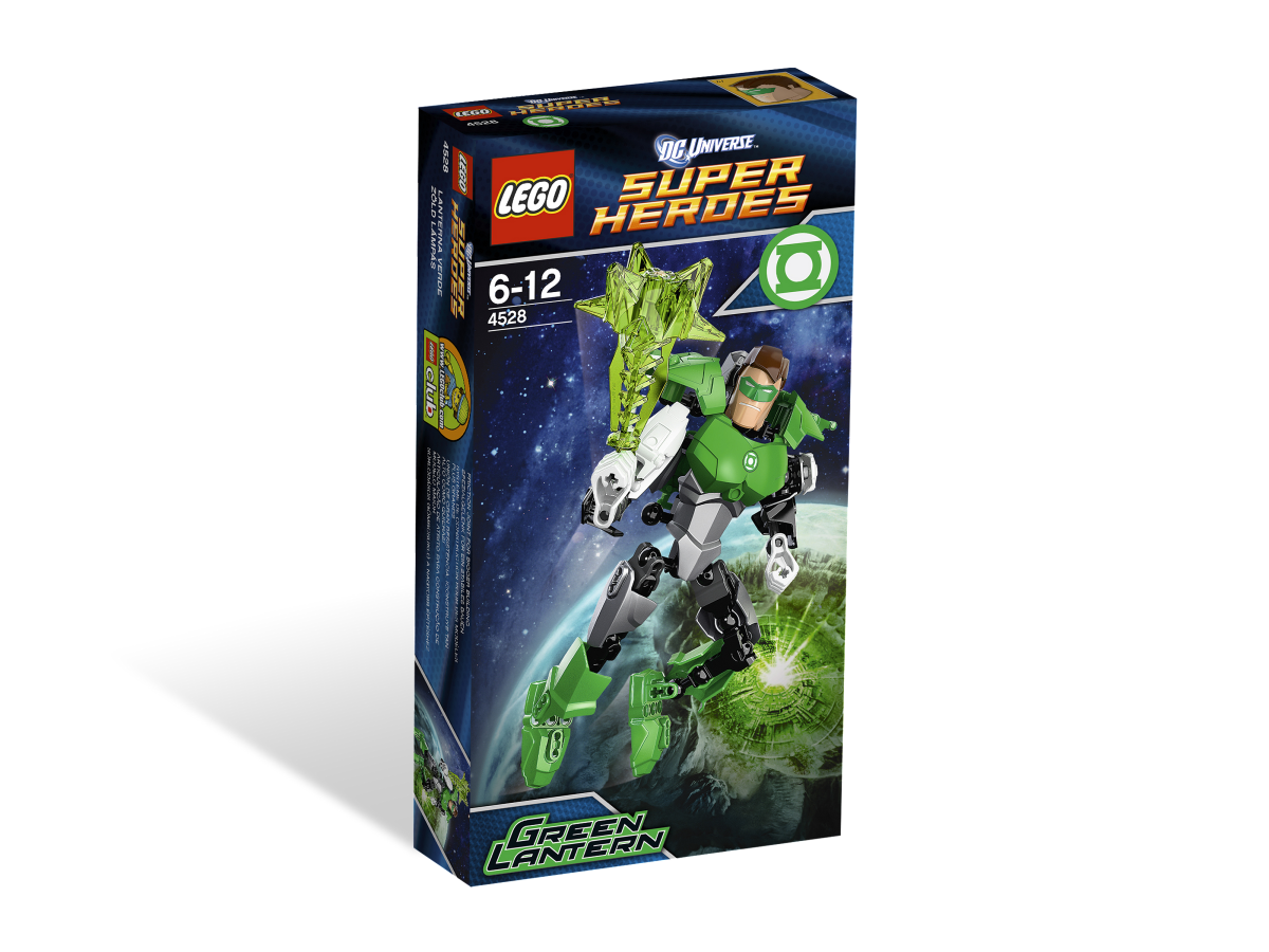 LEGO Super Heroes Green Lantern Ultrabuild 4528 Box