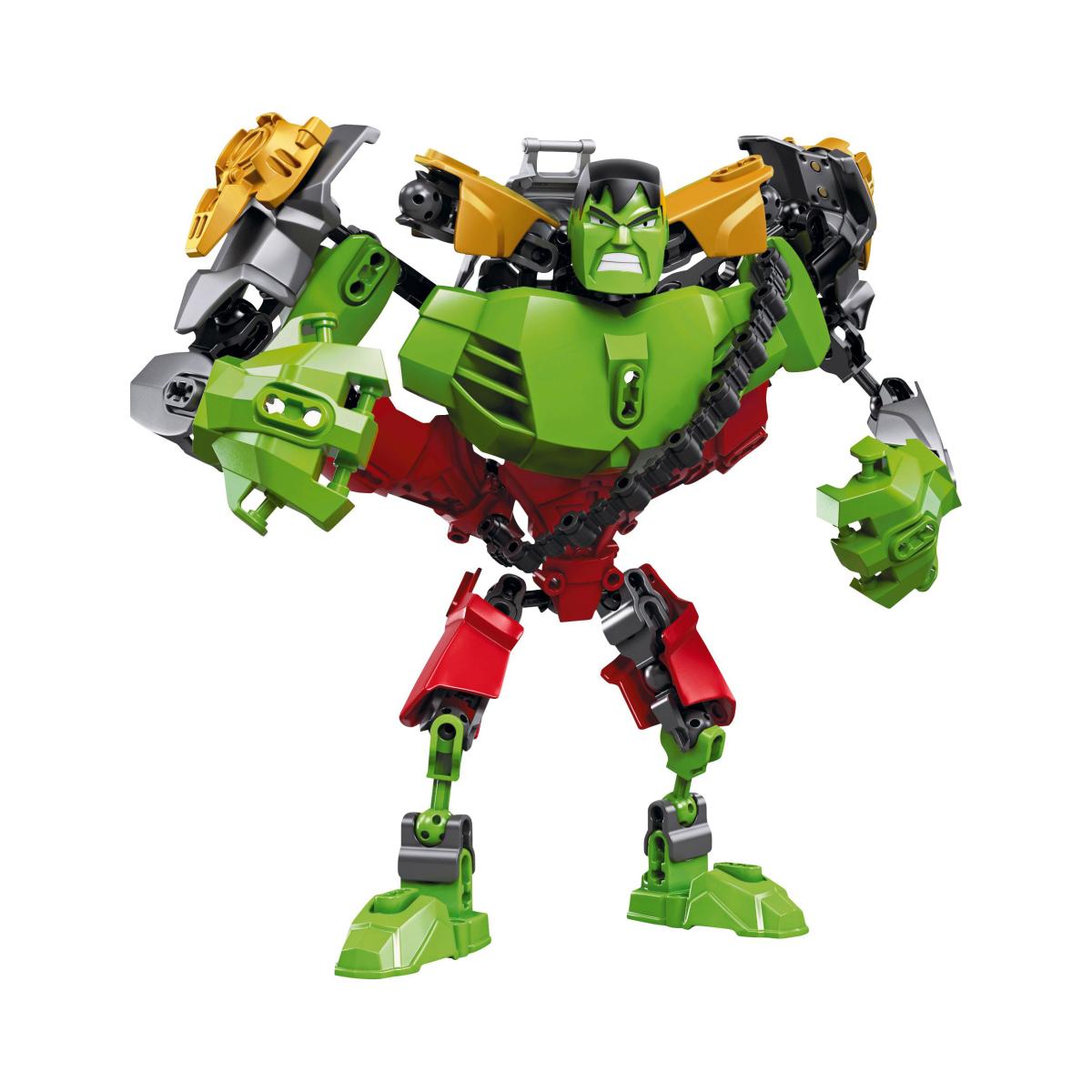 LEGO Ultrabuild Hulk 4597 Iron Man Combo Assembled