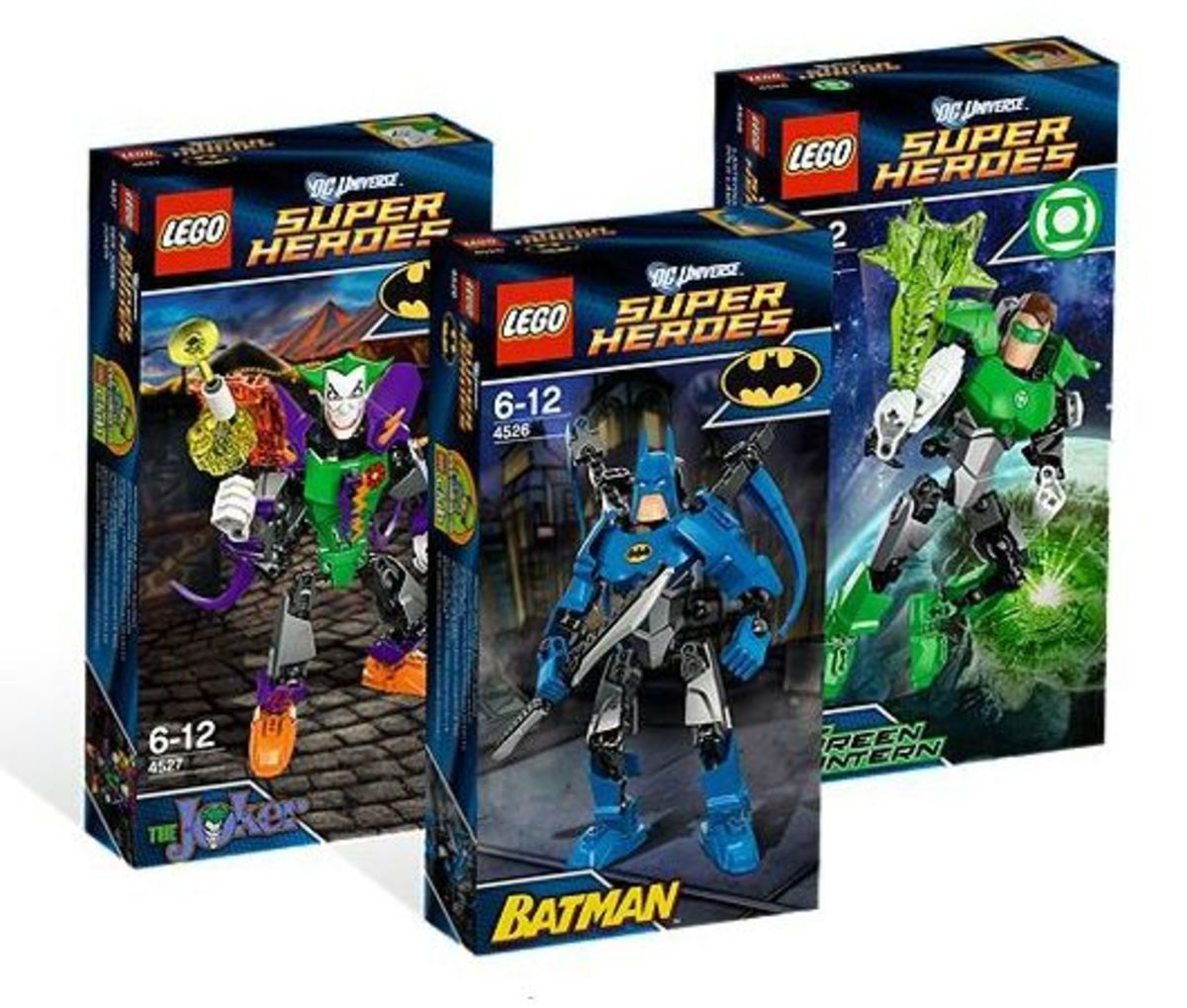 LEGO Super Heroes DC Universe Super Heroes Collection Boxes