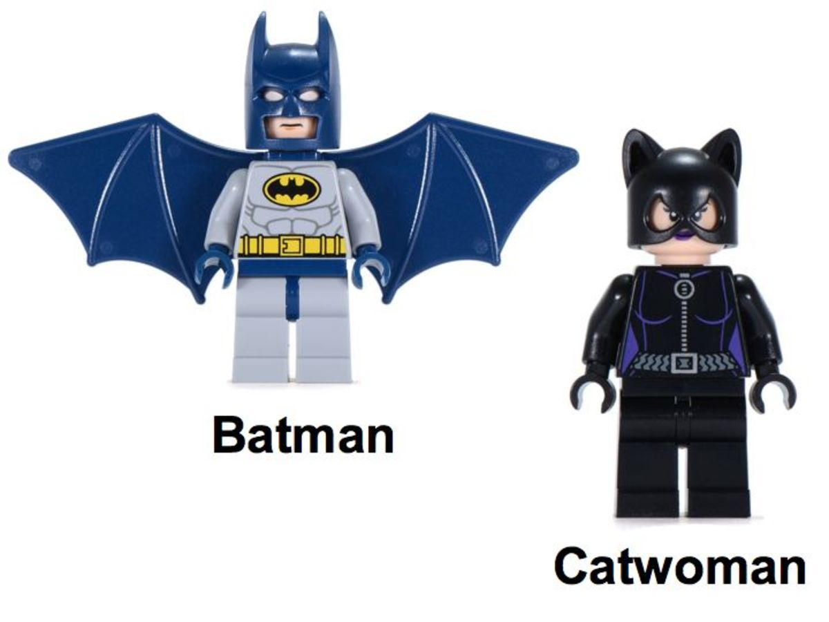 LEGO Super Heroes Catwoman Catcycle City Chase 6858 Minifigures
