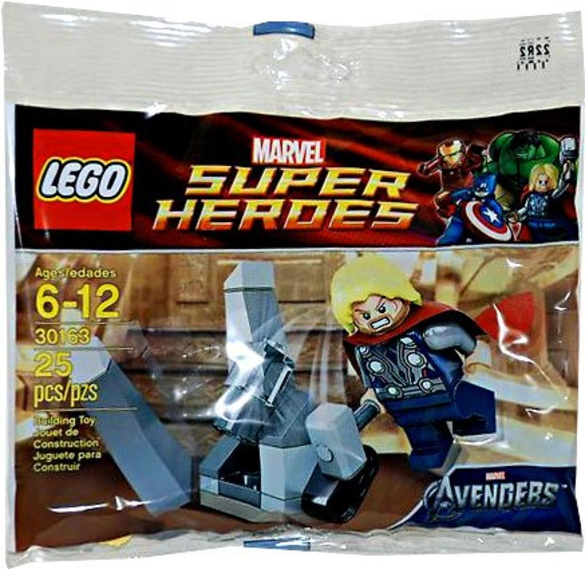 LEGO Super Heroes Thor and The Cosmic Cube 30163 Polybag