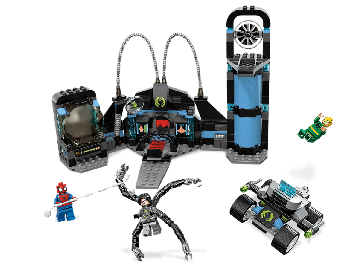 LEGO Super Heroes Spider-Man's Doc Ock Ambush 6873 Assembled