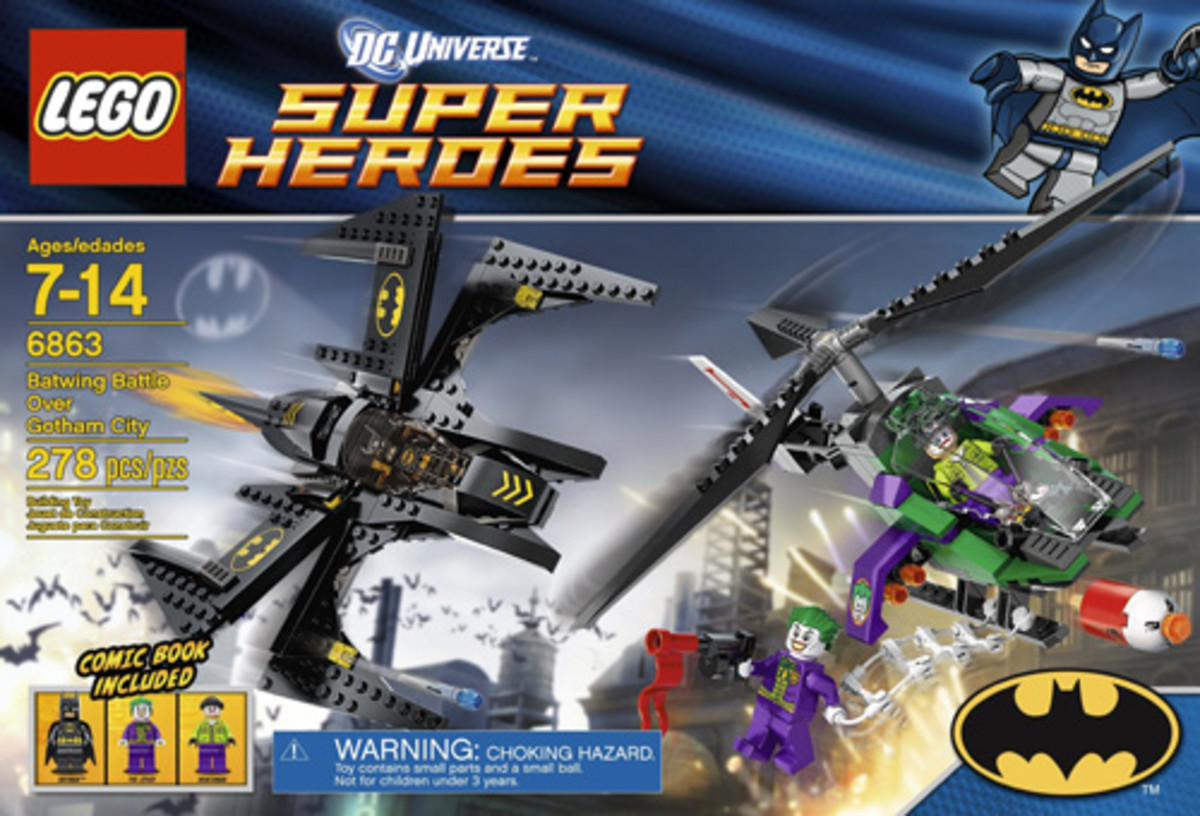 LEGO Super Heroes Batwing Battle Over Gotham City 6863 Box