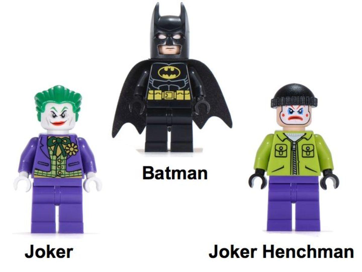 LEGO Super Heroes Batwing Battle Over Gotham City 6863 Minifigures