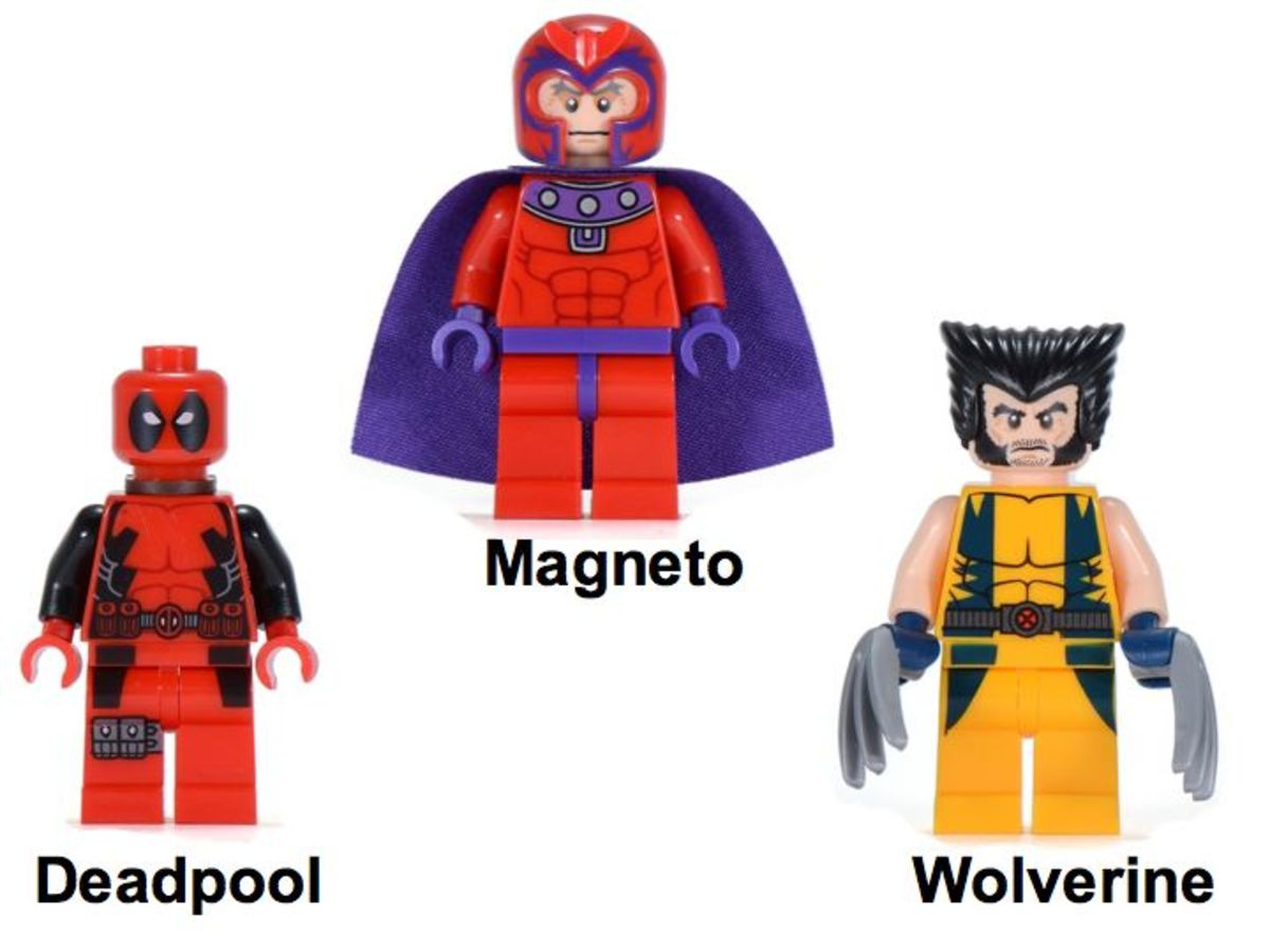 LEGO Super Heroes Wolverine's Chopper Showdown 6866 Minifigures