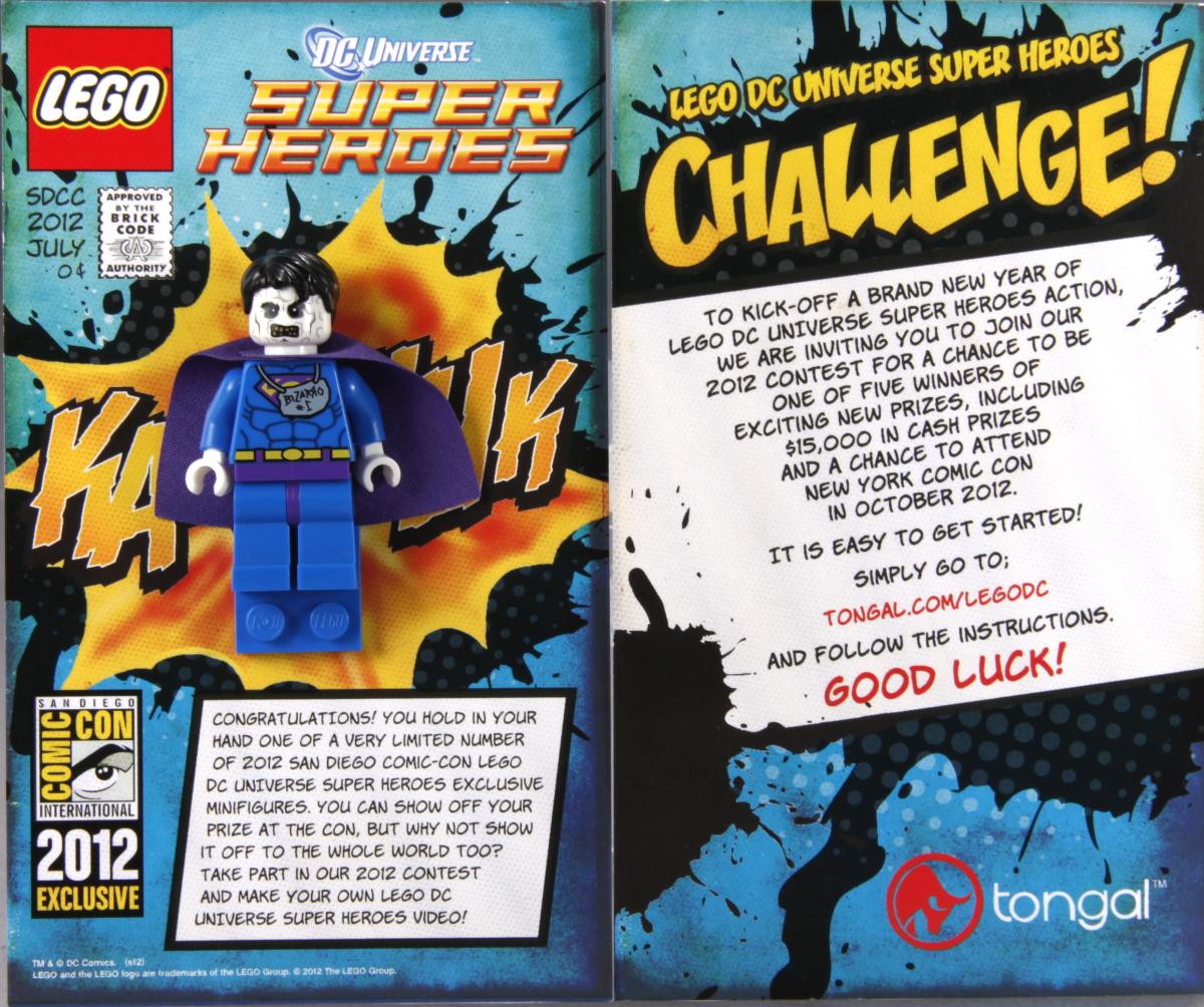 LEGO Super Heroes Bizarro Minifigure Box