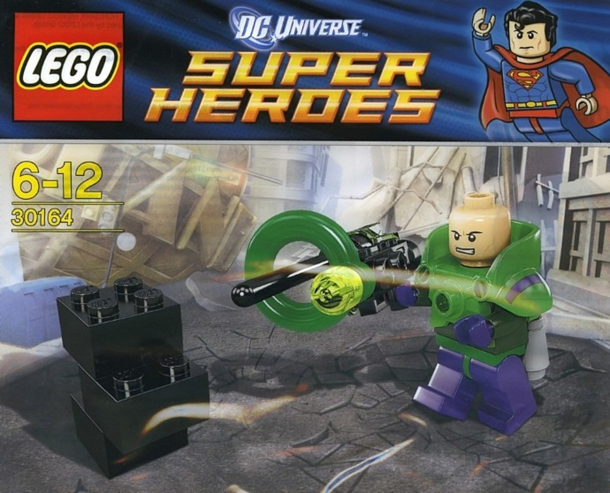 LEGO Super Heroes Lex Luthor Minifigure 30164 Polybag
