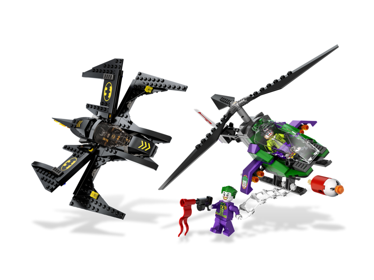 LEGO Super Heroes Batwing Battle Over Gotham City 6863 Assembled