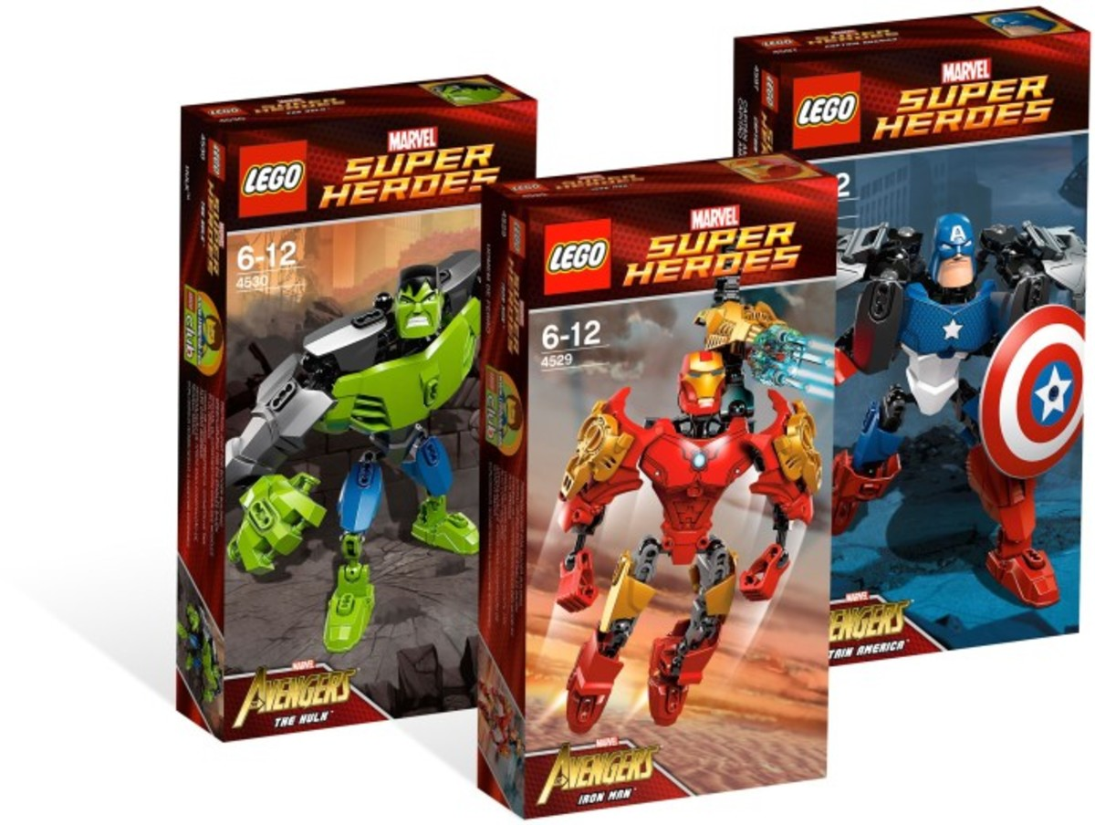 LEGO Super Heroes Marvel Universe Super Heroes Collection Boxes