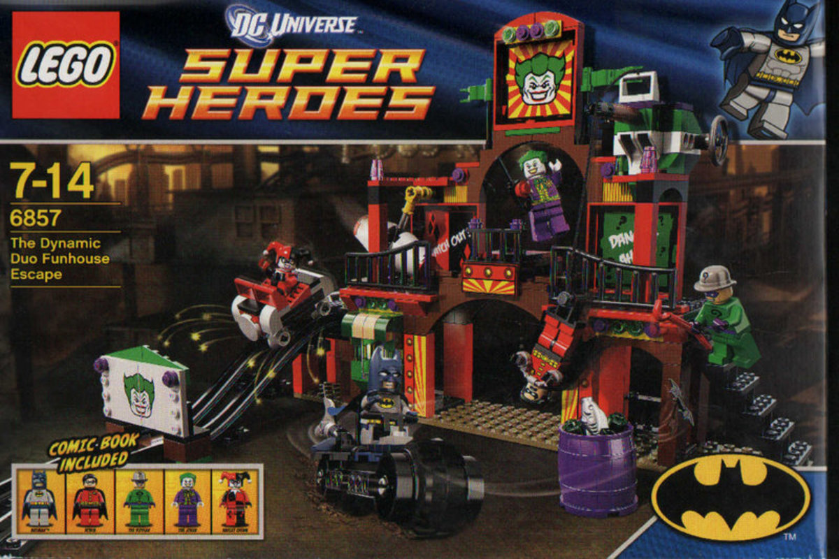 LEGO Super Heroes Dynamic Duo Funhouse Escape 6857 Box