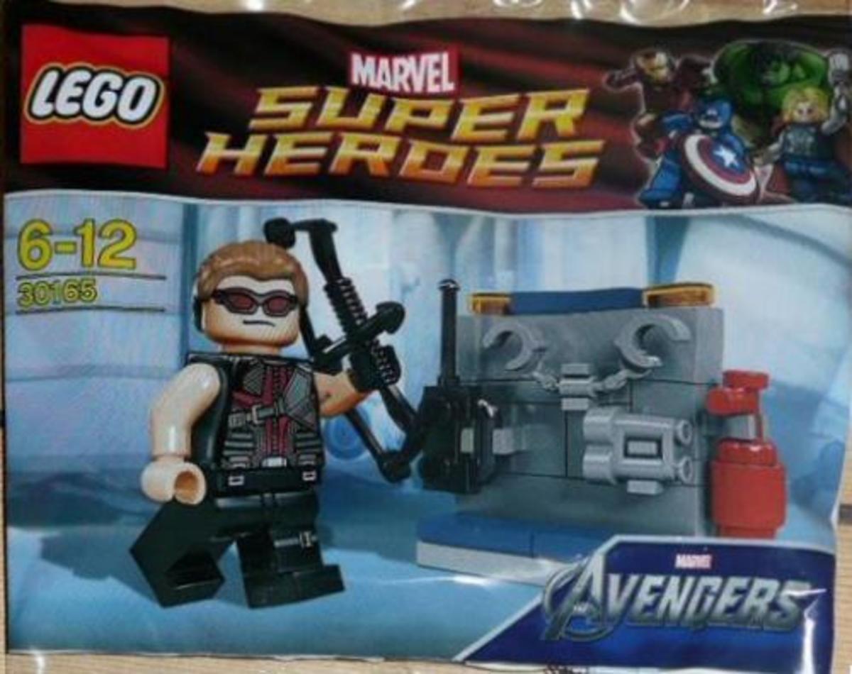 LEGO Hawkeye With Equipment 30165 Bag