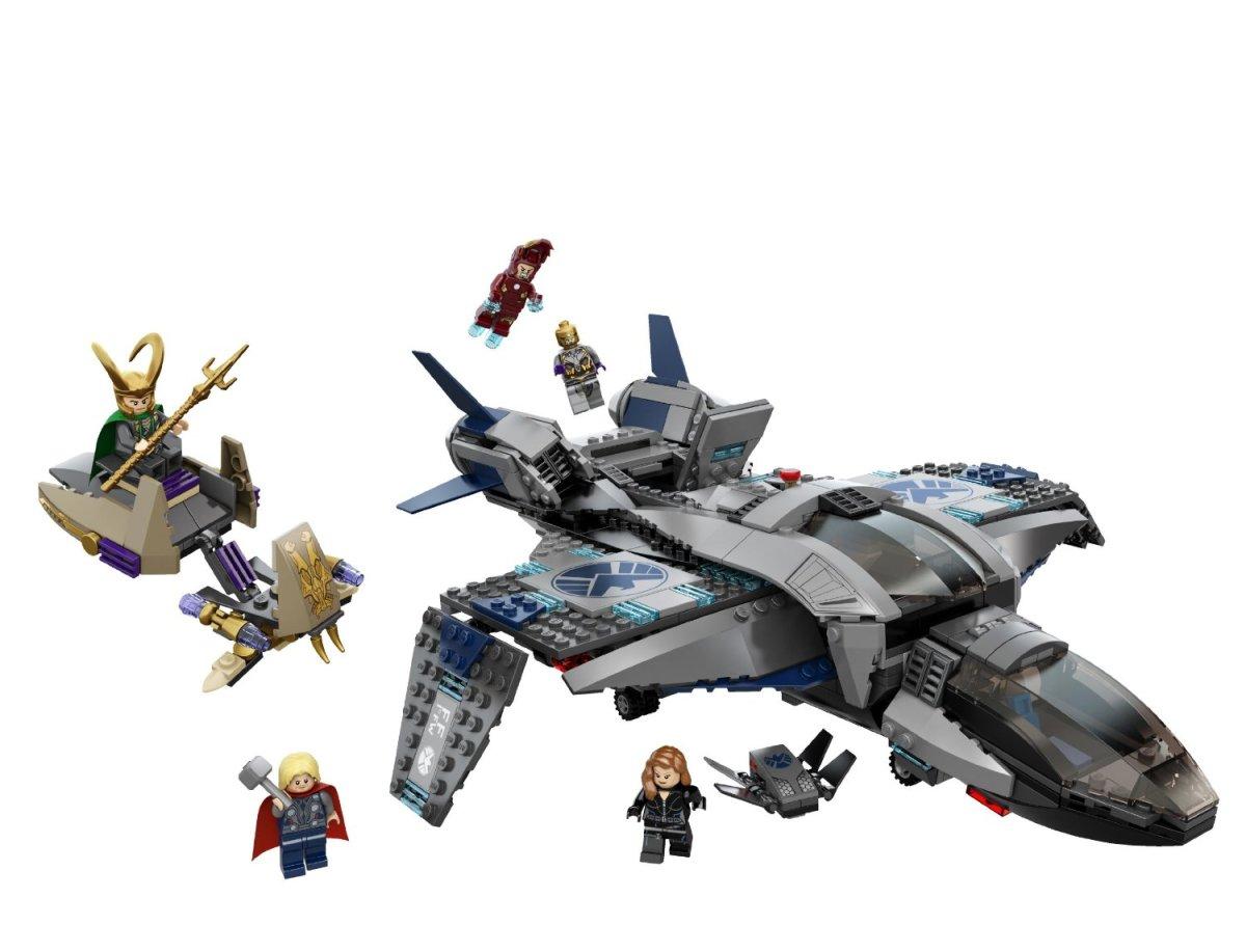 LEGO Super Heroes Quinjet Aerial Battle 6869 Assembled