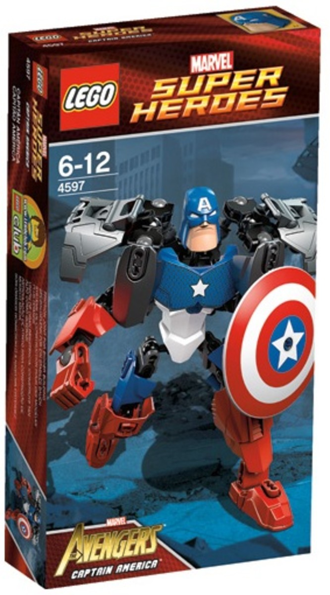 LEGO Ultrabuild Captain America 4597 Box