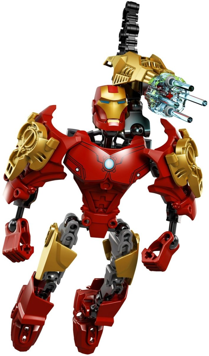 LEGO Super Heroes Ultrabuild Iron Man 4529 Assembled