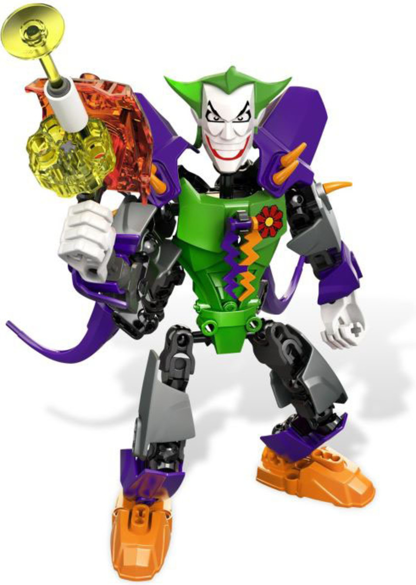 LEGO Ultrabuild Super Heroes Joker 4527 Assembled