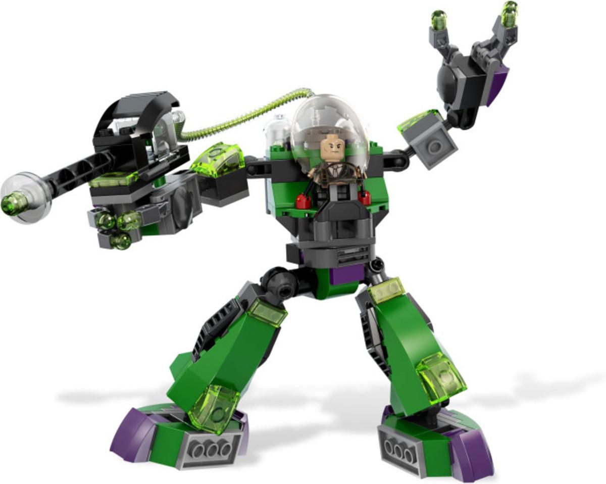 LEGO Super Heroes Superman vs. Power Armor Lex 6862 Assembled