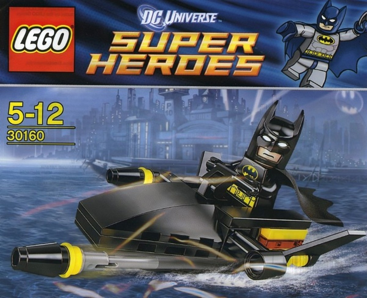 LEGO Super Heroes Batman Jetski 30160 Polybag