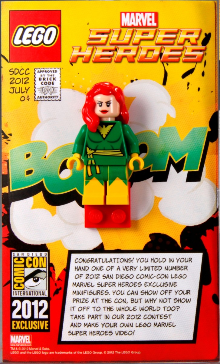 LEGO Super Heroes Phoenix Minifigure Box