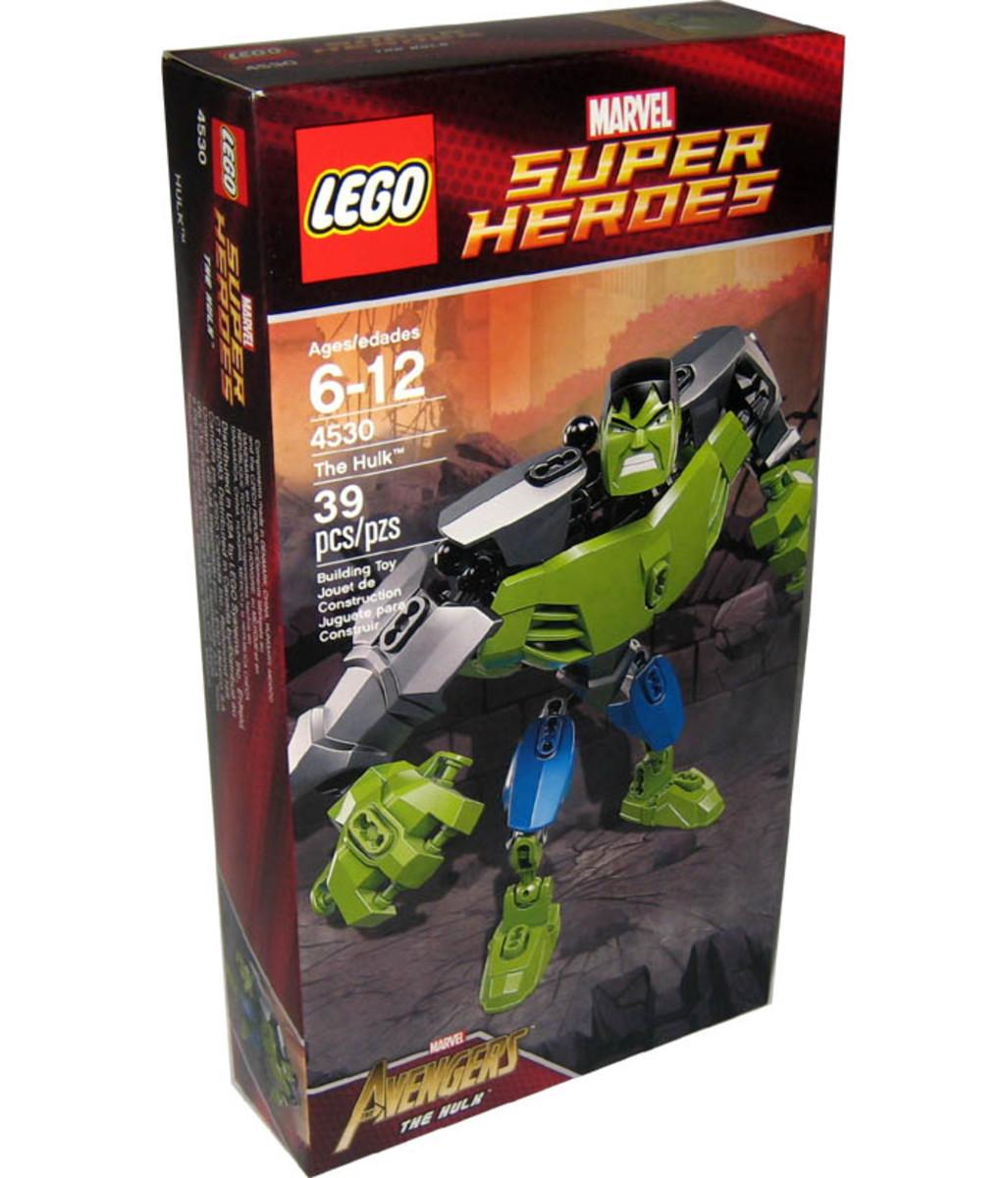 LEGO Ultrabuild Hulk 4597 Box