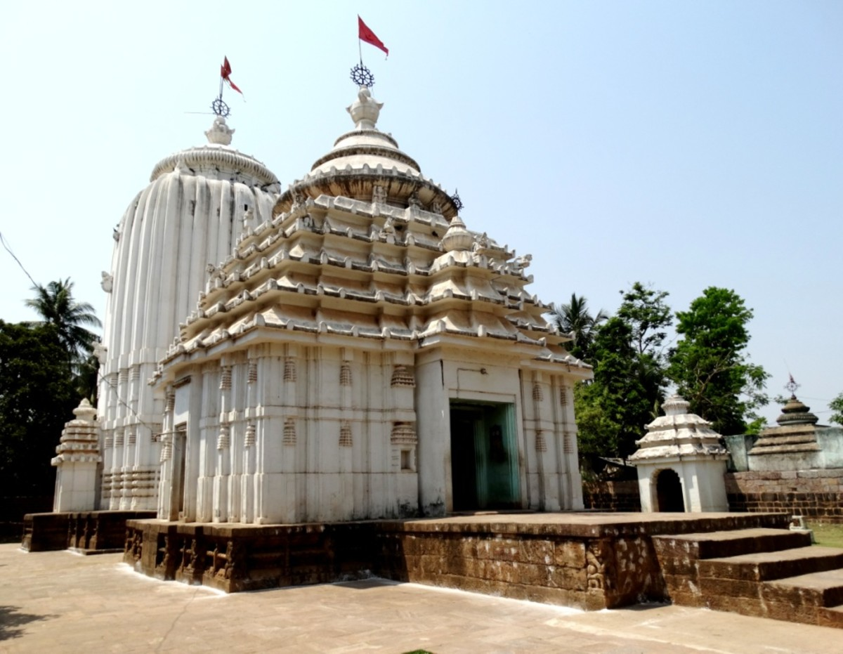 The temple of Lord Jagannath, Jajpur