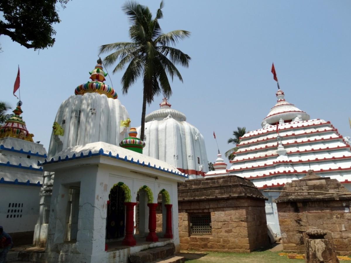 The Varahanath temple complex, Jajpur