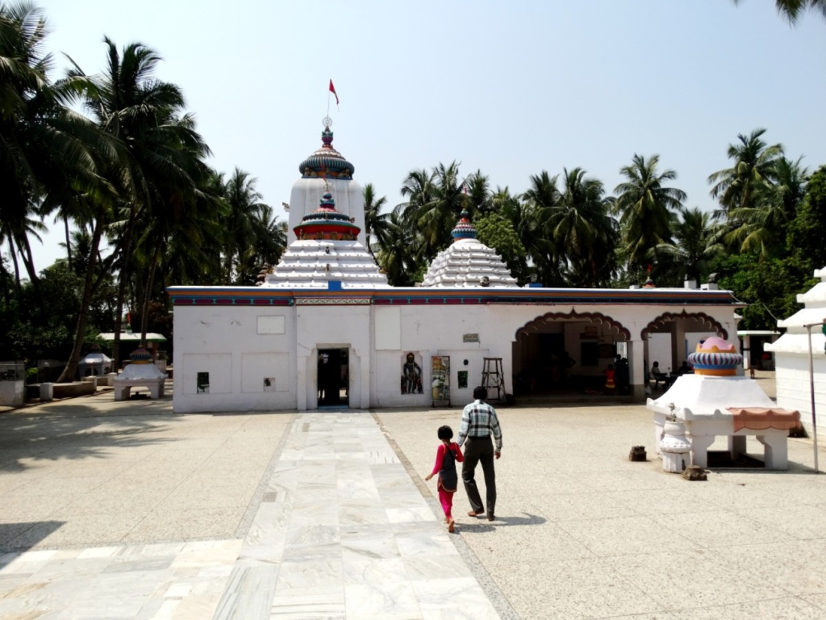 The temple of Goddess Biraja
