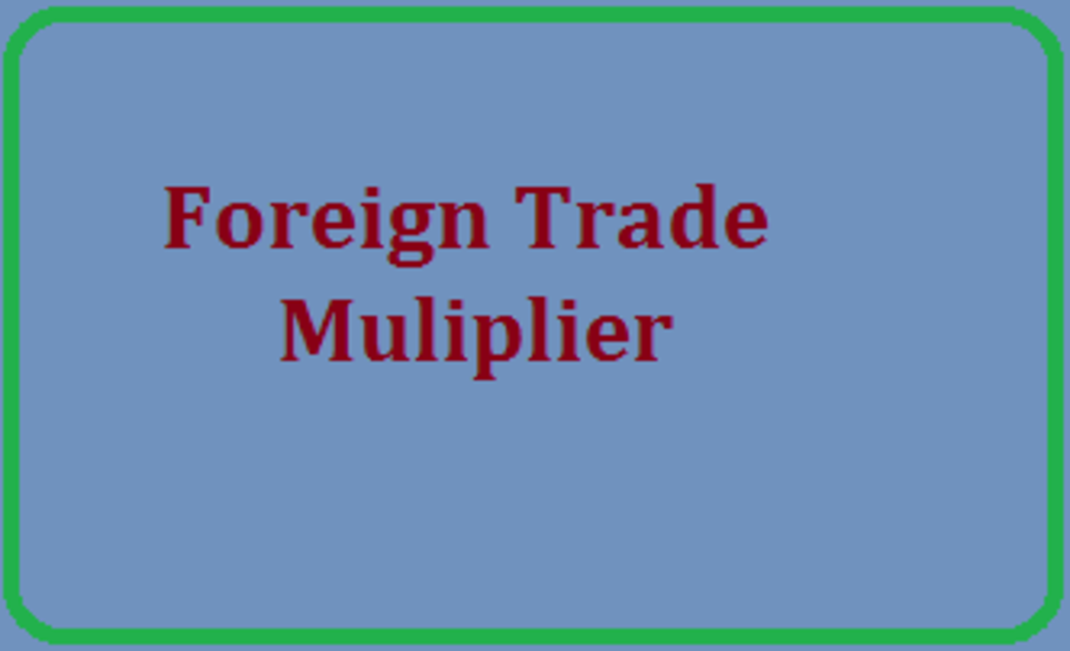 Foreign Trade Multiplier; A Brief Note