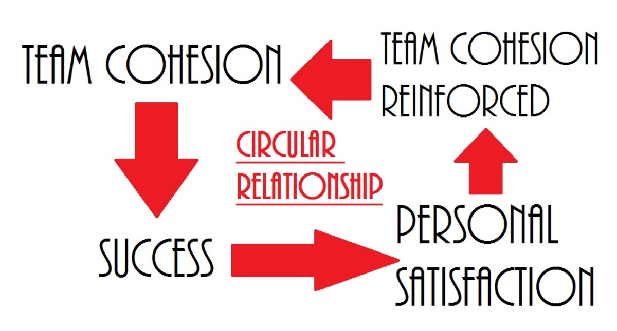 Circular relationship between cohesion and personal satisfaction