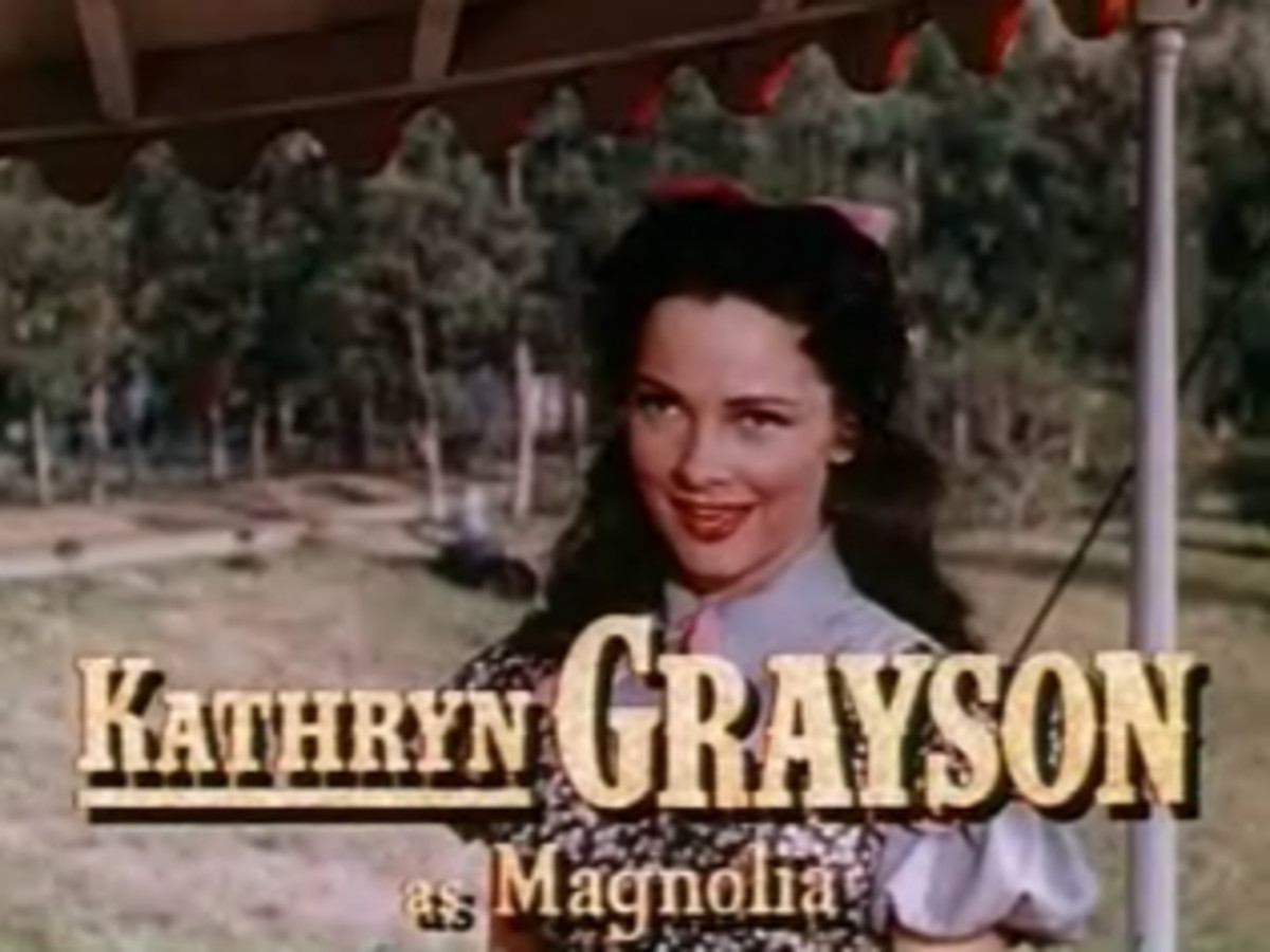 Kathryn Grayson as Magnolia in the film adaptation of the Broadway musical Show Boat.