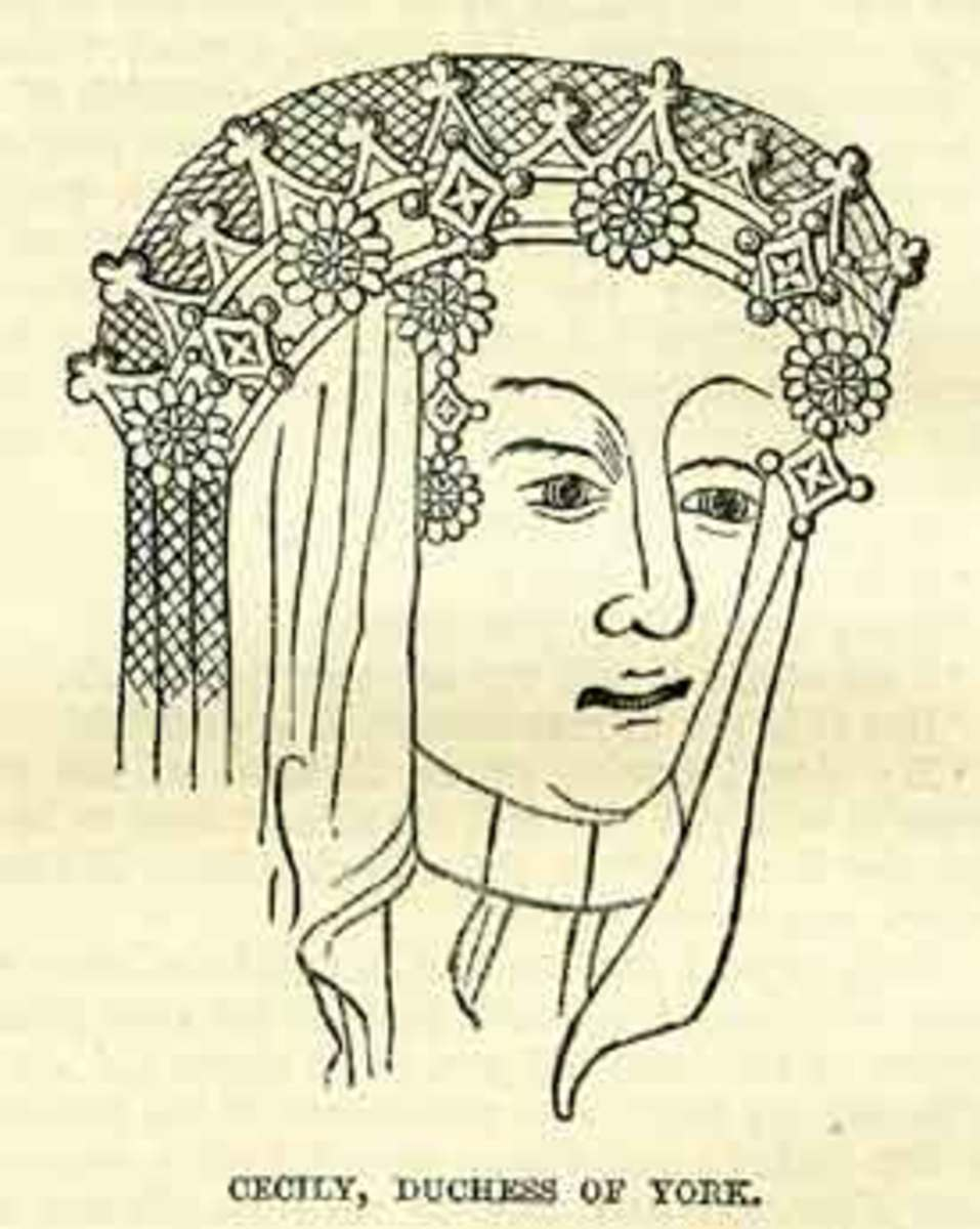 Cecily Neville was the wife of Richard, Duke of York, and mother of two English kings.