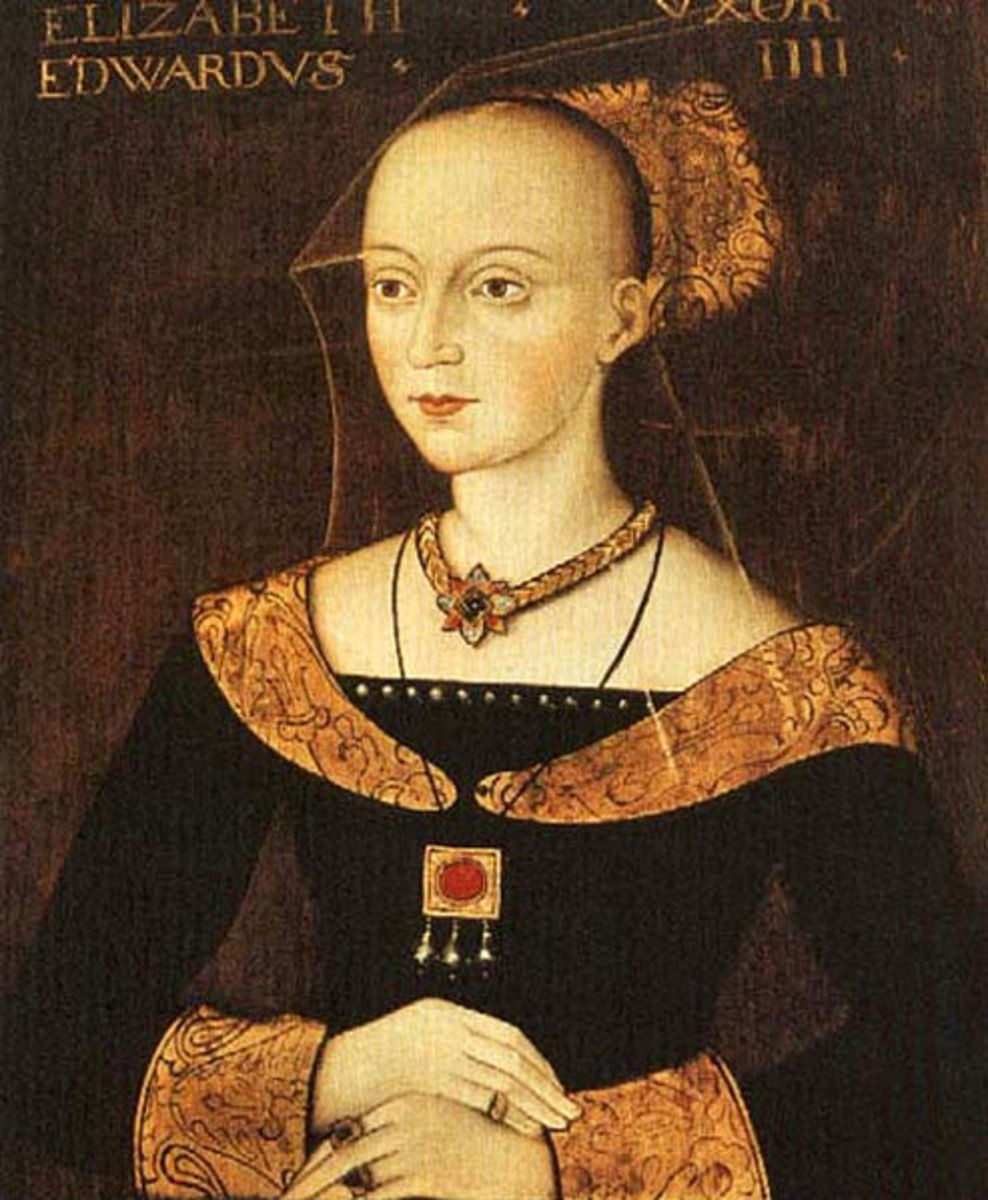 Cecily Neville and Elizabeth Woodville were not on the most friendliest of terms.