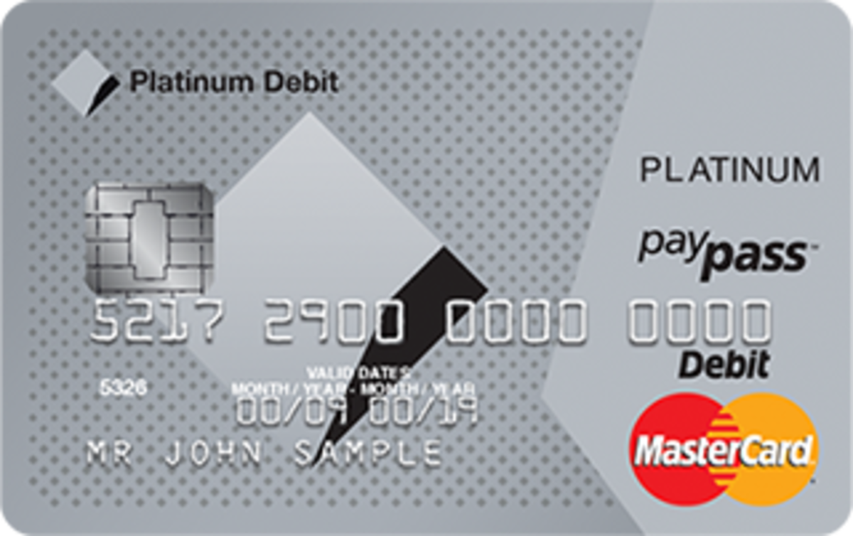 CBA's new Platinum Debit MasterCard which offers reward points for every dollar spent whilst ensuring the user's spending his/her own money and not the bank's.