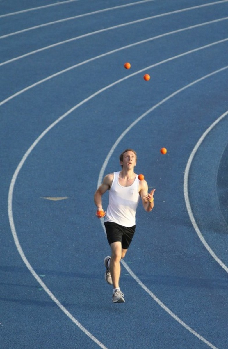 Joggling On Track