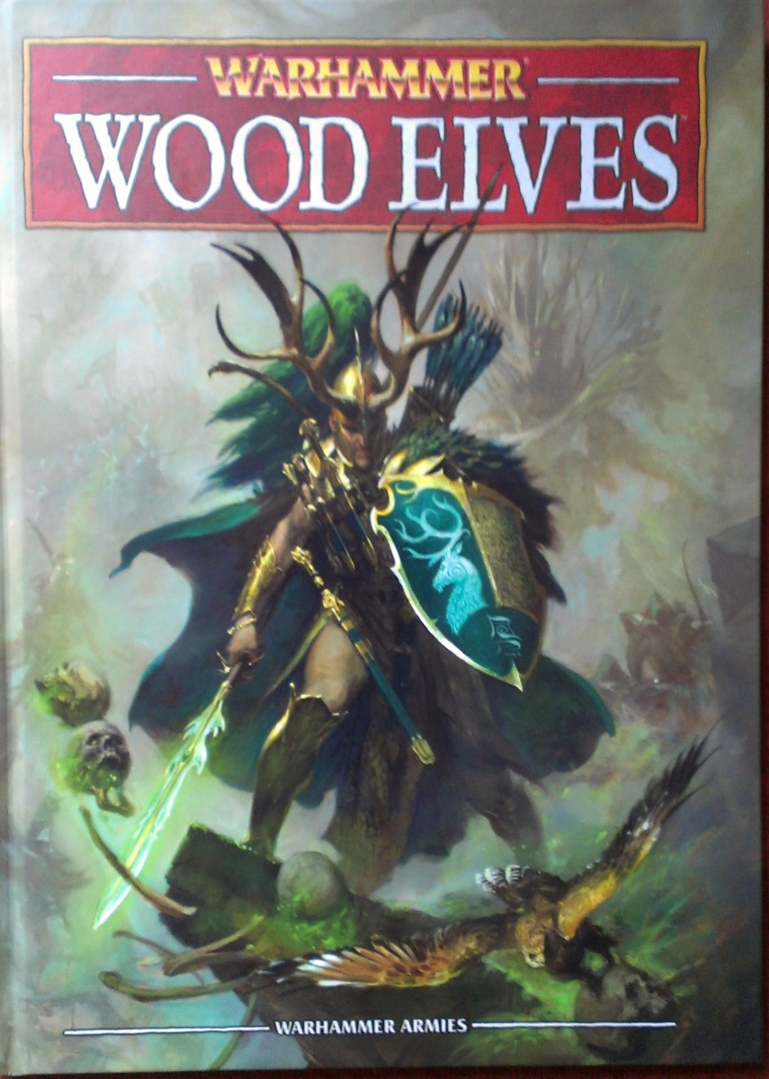 Photo of the new 8th edition Wood Elves book.