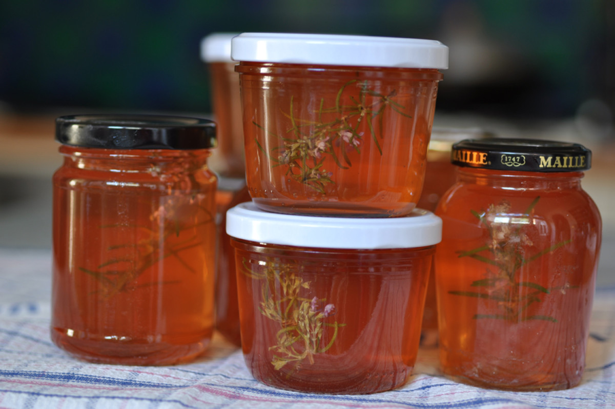 Rosemary jelly, a perfect accompaniment for roast or grilled lamb. Image: © Siu Ling Hui