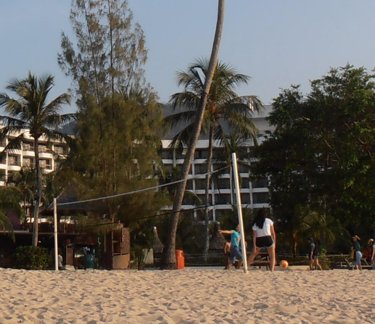 Beach volleyball at Batu Ferringhi