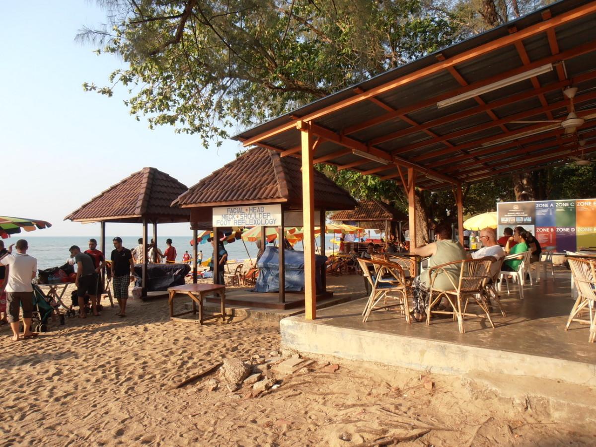 Penang beach cafe