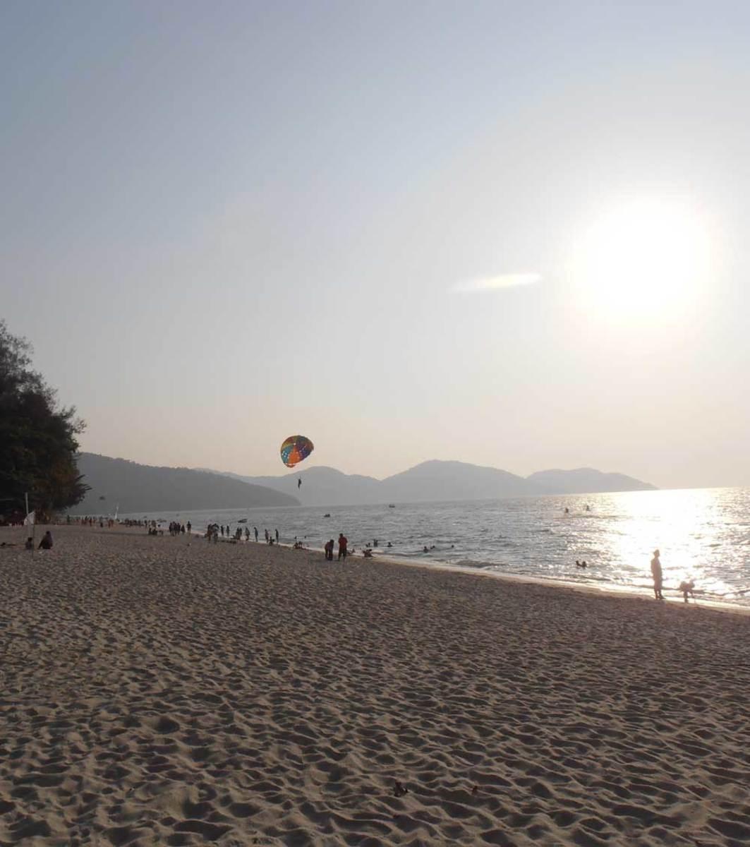 Penang's Batu Ferringghi Beach