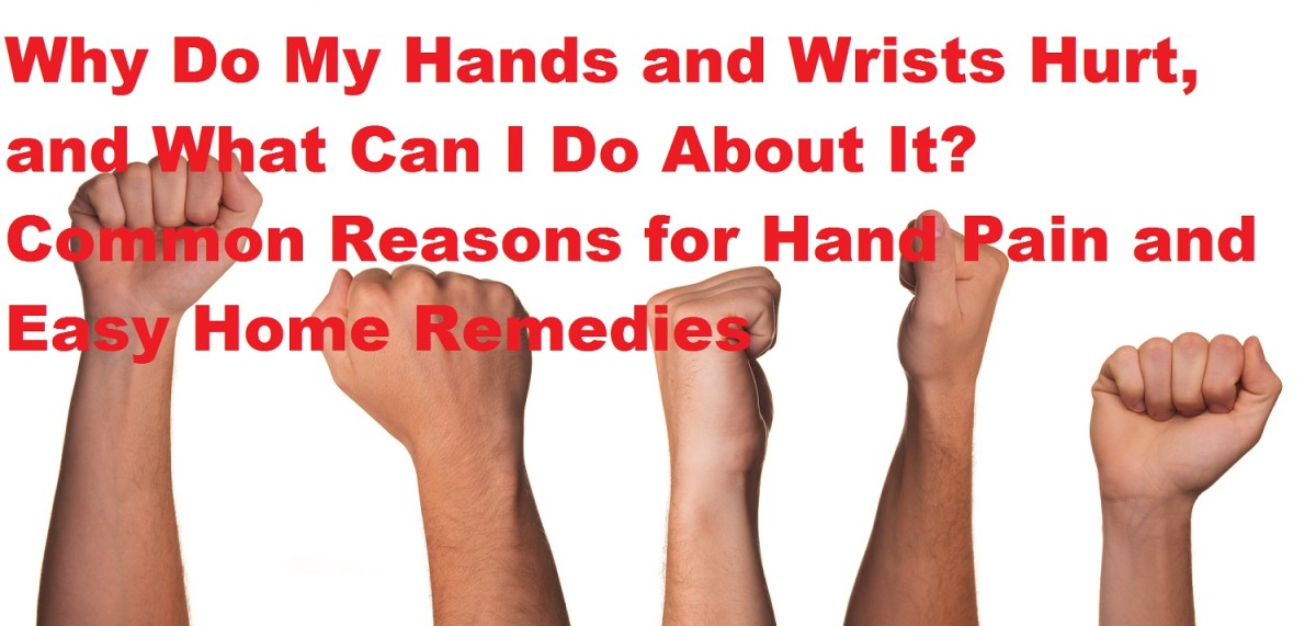 Why Do My Hands and Wrists Hurt? How Carpal Tunnel Syndrome, Tendonitis, Osteoarthritis and Ganglion Cysts Affect You