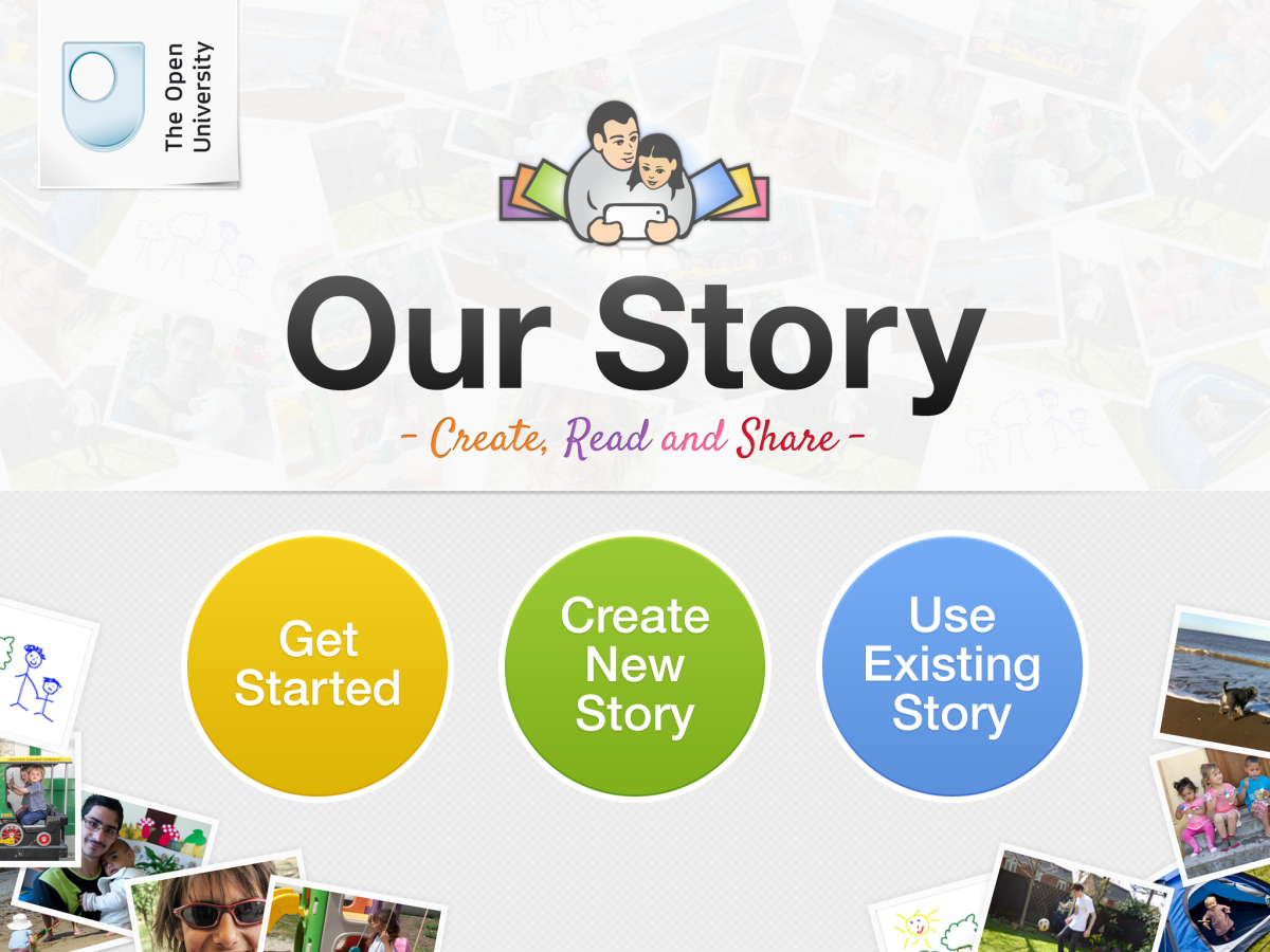 Our Story for iPad Screenshot by Jonathan Wylie